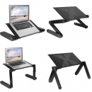 Folding table stand for notebook