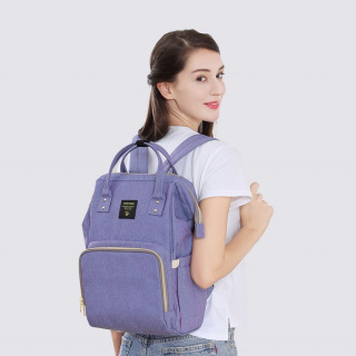 Backpak for Moms - blue