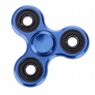 Fidget Spinner - Metal - Blue