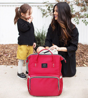 Backpack for Moms - coral