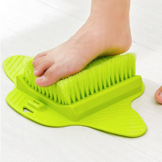 Foot cleaning and massage brush