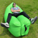 Self-inflating bag Lazy Bag - green